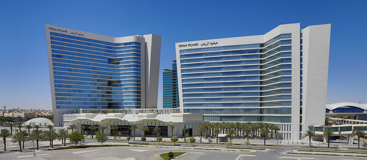 Hilton Riyadh Hotel Residences 2021 World Luxury Hotel Awards Nominee